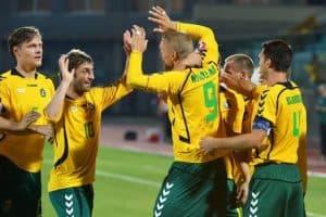 LITHUANIA NATIONAL FC SOCCER TEAM 2019