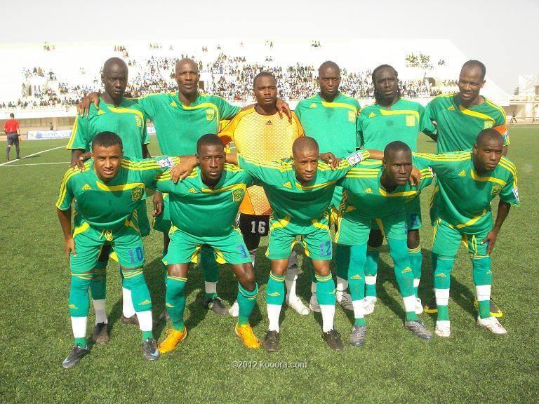 Mauritania National FC Soccer Team 2019
