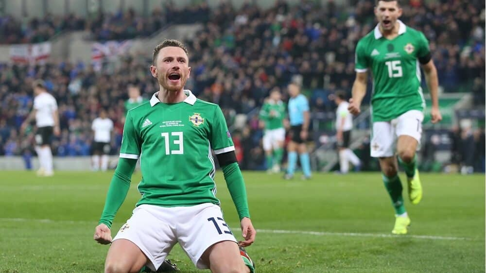 NORTHERN IRELAND NATIONAL FC SOCCER TEAM 2019