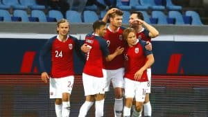 NORWAY NATIONAL FC SOCCER TEAM 2019