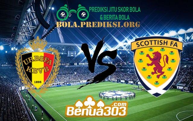 Prediksi Skor Belgium Vs Scotland 12 Juni 2019