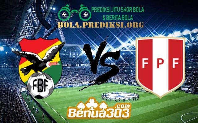 Prediksi Skor Bolivia Vs Peru 19 Juni 2019