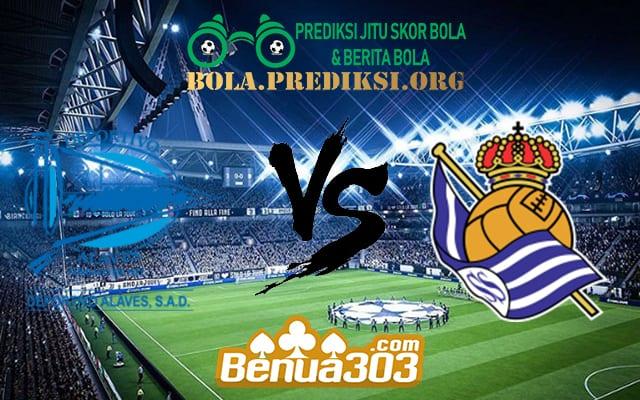 Prediksi Skor Deportivo Alaves Vs Real Sociedad 4 Mei 2019