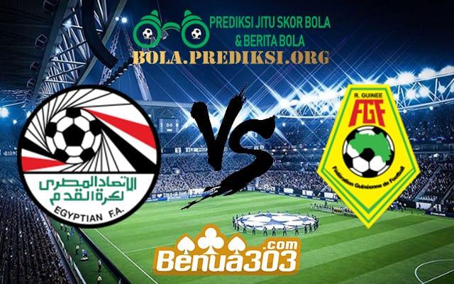 Prediksi Skor Egypt Vs Guinea 16 Juni 2019