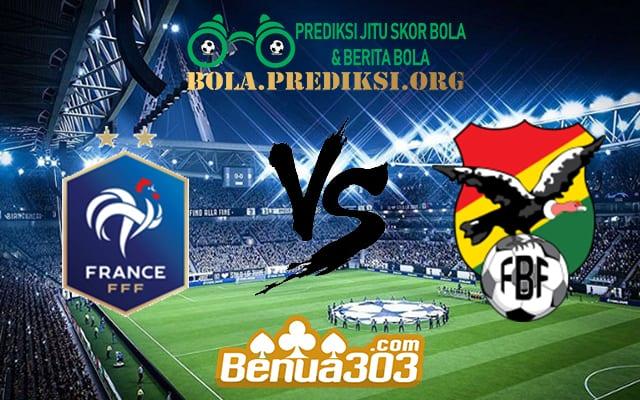 Prediksi Skor France Vs Bolivia 3 Juni 2019