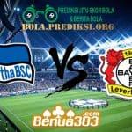 Prediksi Skor Hertha BSC Vs Bayer Leverkusen 18 Mei 2019