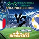 Prediksi Skor Italy Vs Bosnia Herzegovina 12 Juni 2019