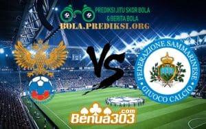 Prediksi Skor Russia Vs San Marino 8 Juni 2019