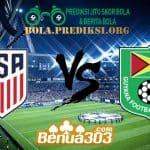 Prediksi Skor United States Vs Guyana 19 Juni 2019