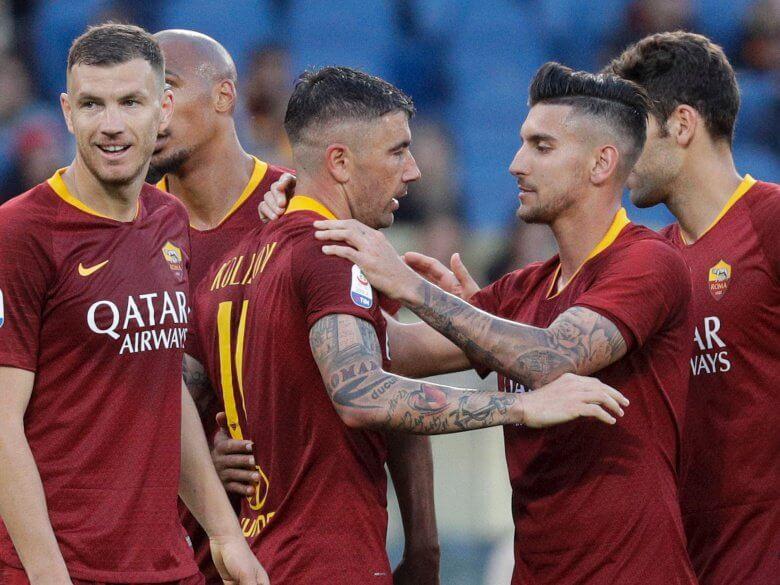 ROMA fc soccer team 2019