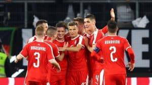 SERBIA NATIONAL FC SOCCER TEAM 2019