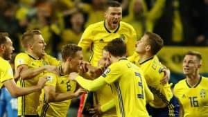 SWEDEN NATIONAL FC SOCCER TEAM 2019