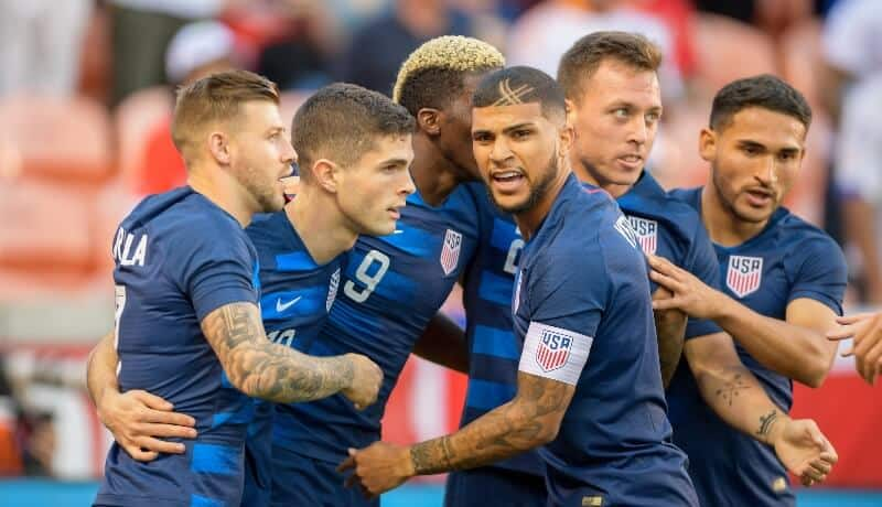 United States National FC Soccer Team 2019