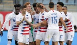 United States National FC Soccer Team 2019