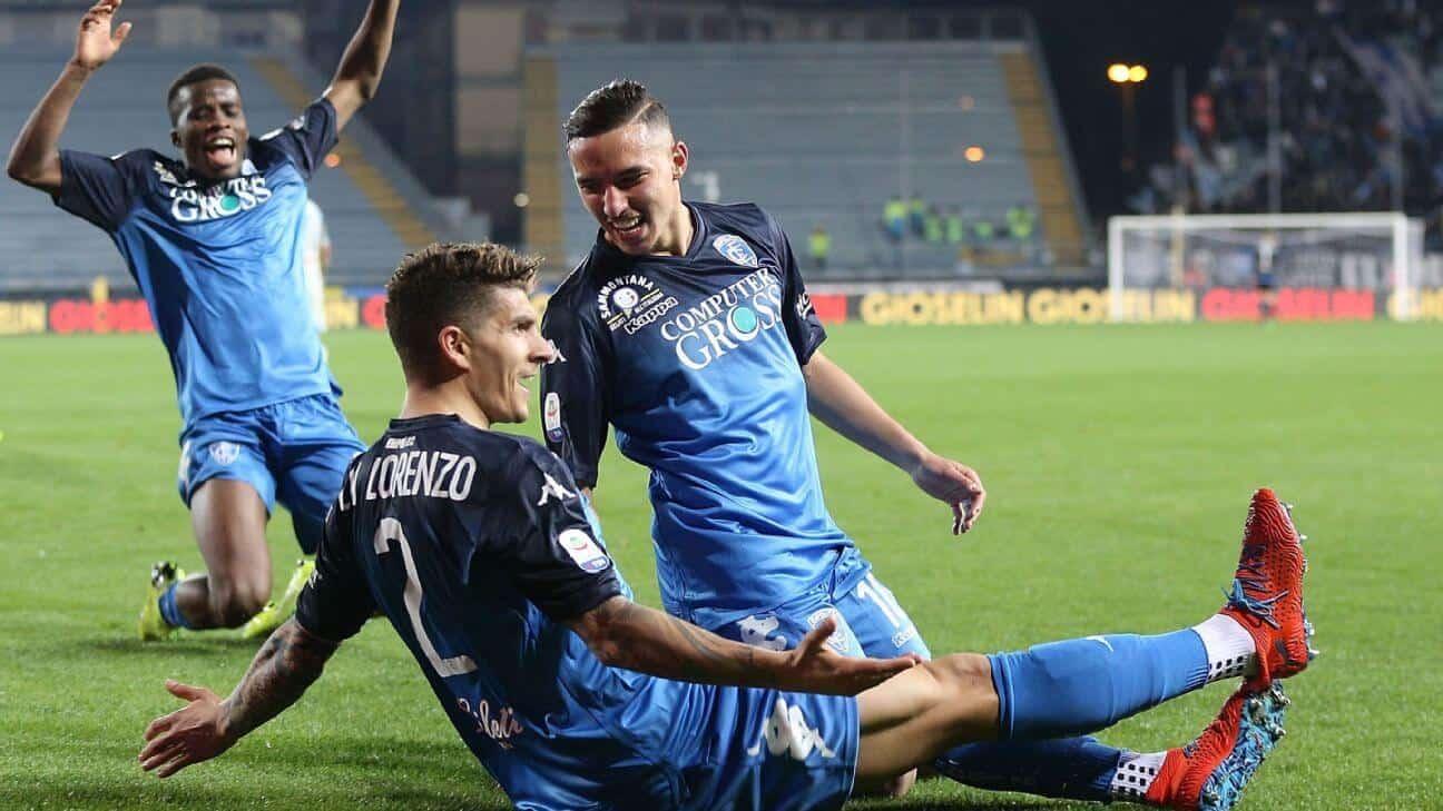 empoli fc soccer team 2019