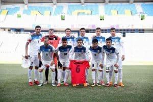 kyrgyztan national fc soccer team 2019