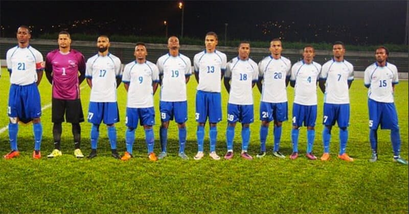 martinique national fc soccer team 2019