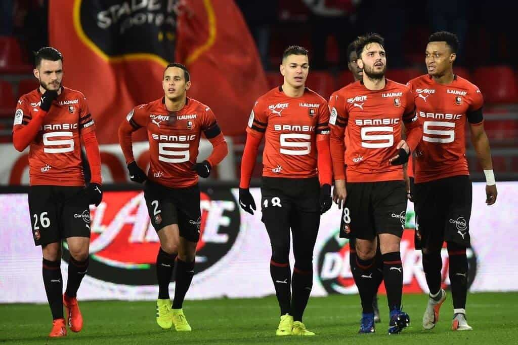 rennes fc soccer team 2019