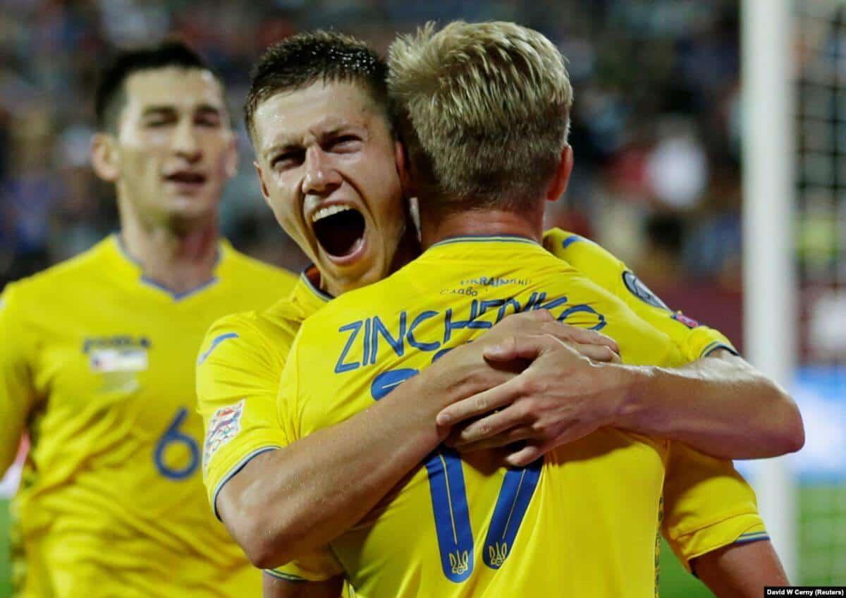 ukraine national fc soccer team 2019