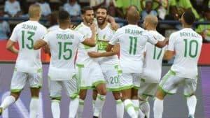 ALJAZAIR NATIONAL FC SOCCER TEAM 2019