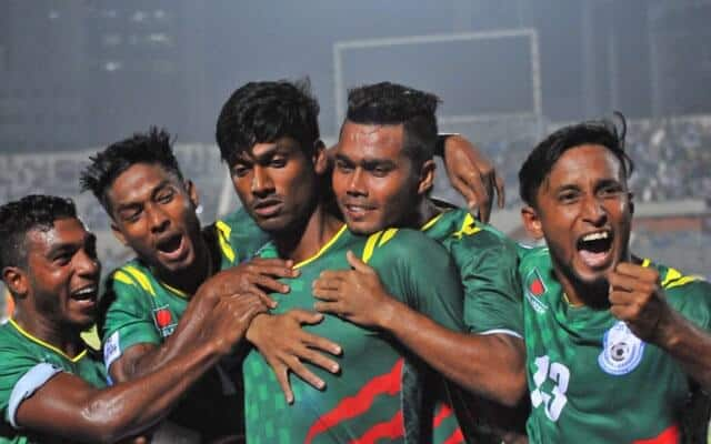 BANGLADESH NATIONAL FC SOCCER TEAM 2019
