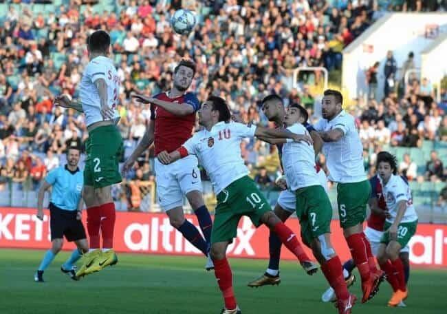 BULGARIA NATIONAL FC SOCCER TEAM 2019