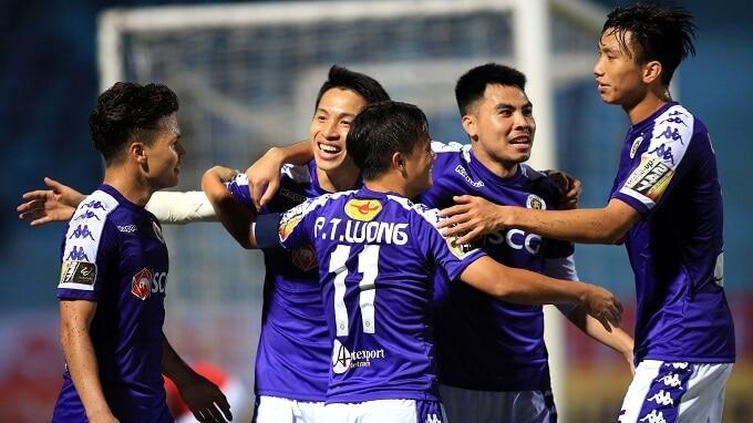 HA NOI FC SOCCER TEAM 2019