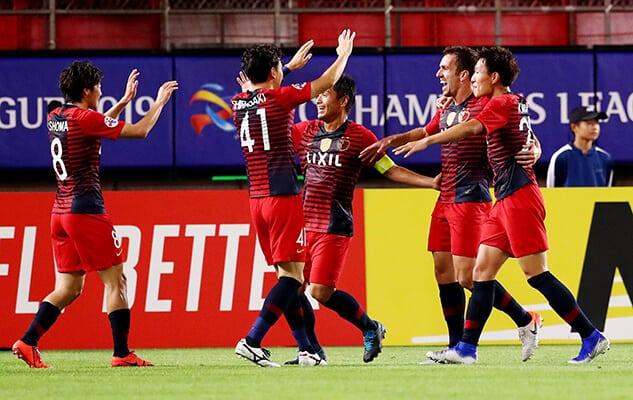 KASHIMA ANTLERS FC SOCCER TEAM 2019