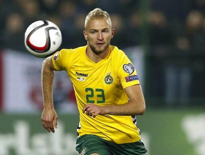 LITUANIA NATIONAL FC SOCCER TEAM 2019