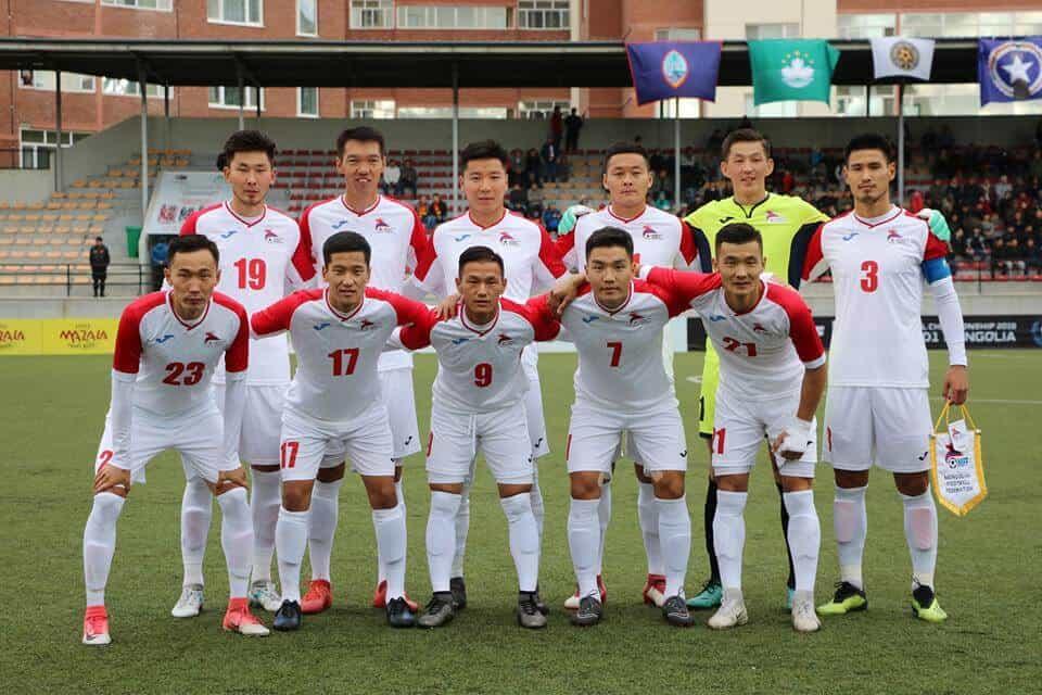 MONGOLIA NATIONAL FC SOCCER TEAM 2019