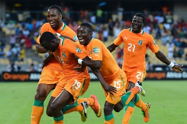 Pantai Gading national fc soccer team 2019