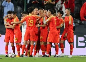 Republic Rakyat China national fc soccer team 2019
