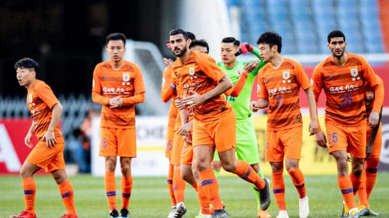 SHANDONG LUNENG FC SOCCER TEAM 2019