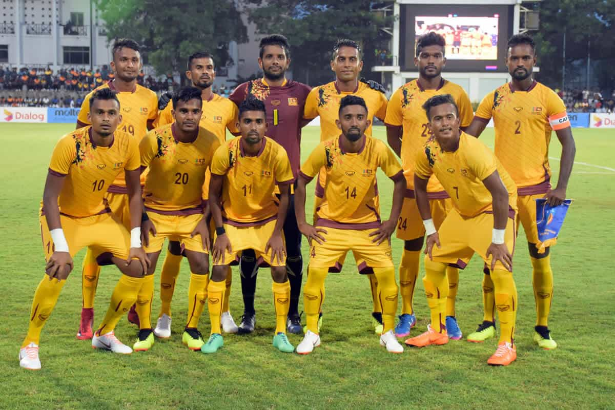 SRI LANKA NATIONAL FC SOCCER TEAM 2019