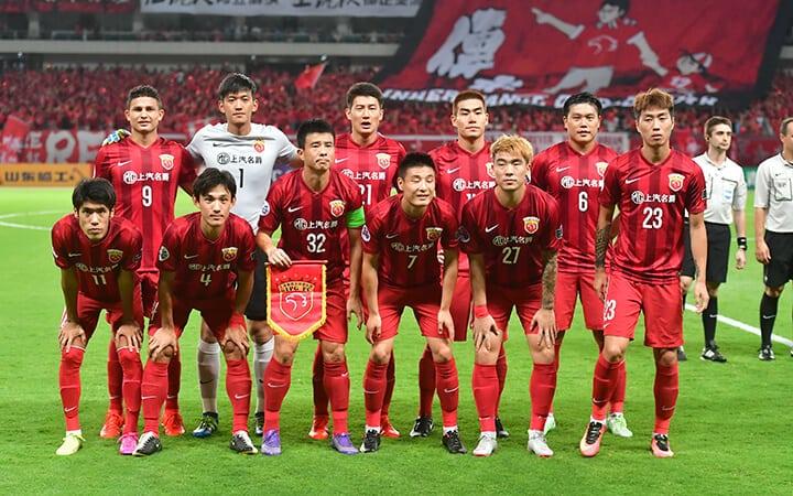 Shanghai SIPG fc team