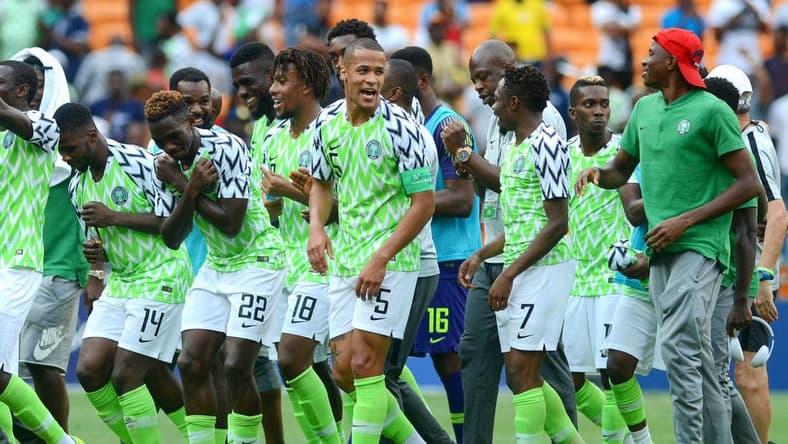 TIM SEPAK BOLA NASIONAL NIGERIA