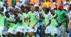 TIM SEPAK BOLA NASIONAL NIGERIA 2019