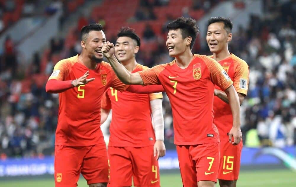 TIM SEPAK BOLA NASIONAL REPUBLIK RAKYAT CHINA