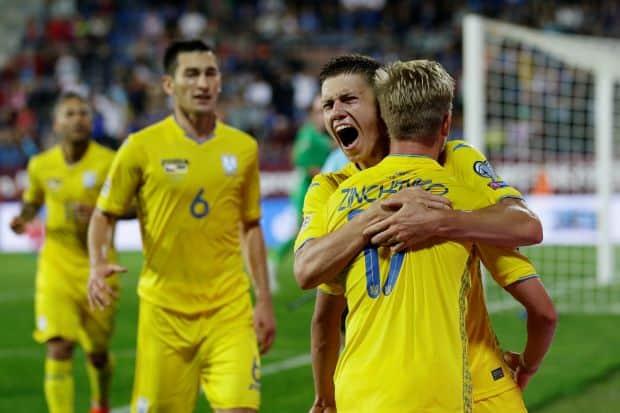 UKRAINA NATIONAL FC SOCCER TEAM 2019