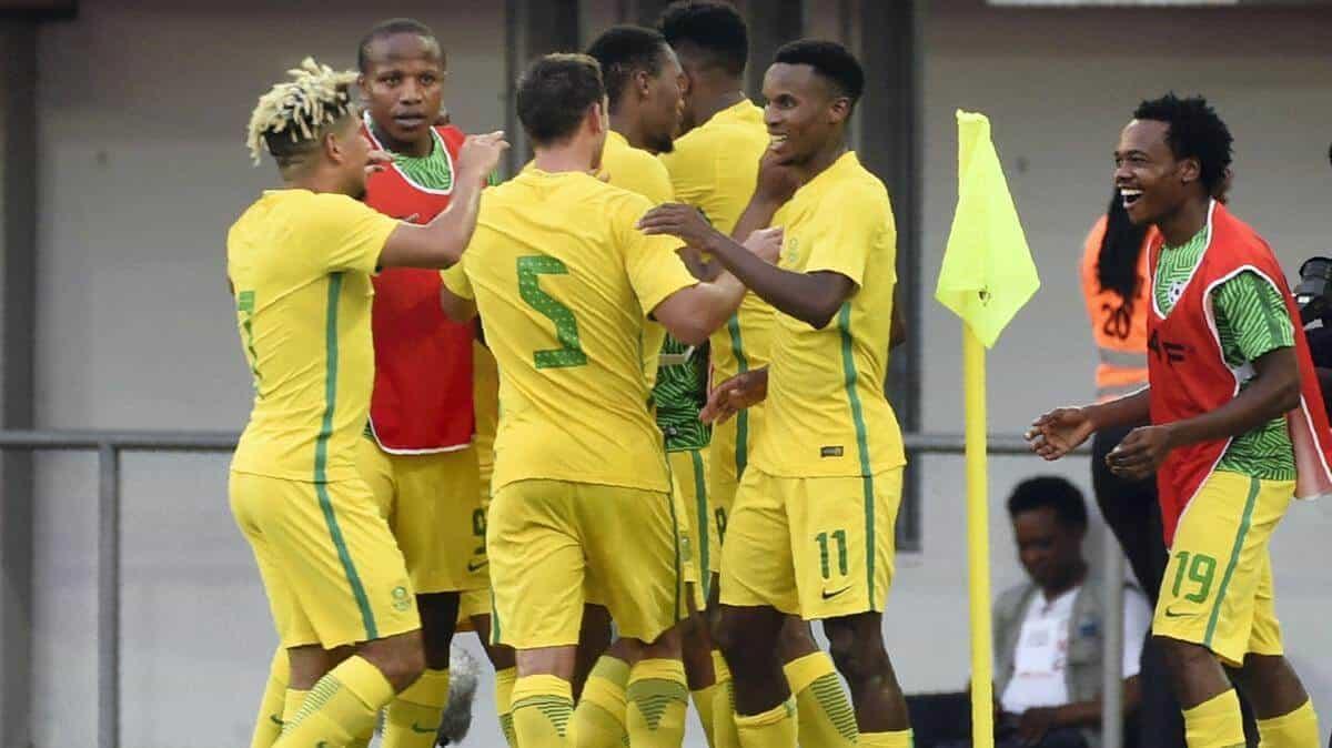 afrika selaltan national fc soccer team 2019