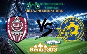 Prediksi Skor CFR Cluj Vs Maccabi Tel Aviv 25 Juli 2019