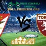 Prediksi Skor Debrecen Vs Torino 1 Agustus 2019