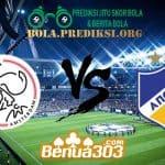 Prediksi Skor Ajax Vs APOEL 29 Agustus 2019