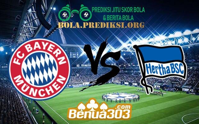 Prediksi Skor Bayern Munich Vs Hertha BSC 17 Agustus 2019