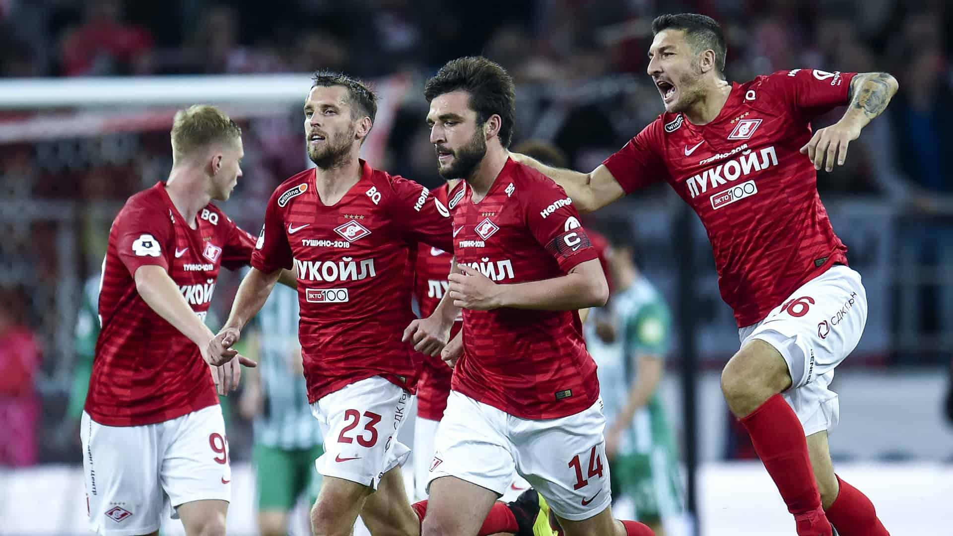 Spartak Moskwa fc team