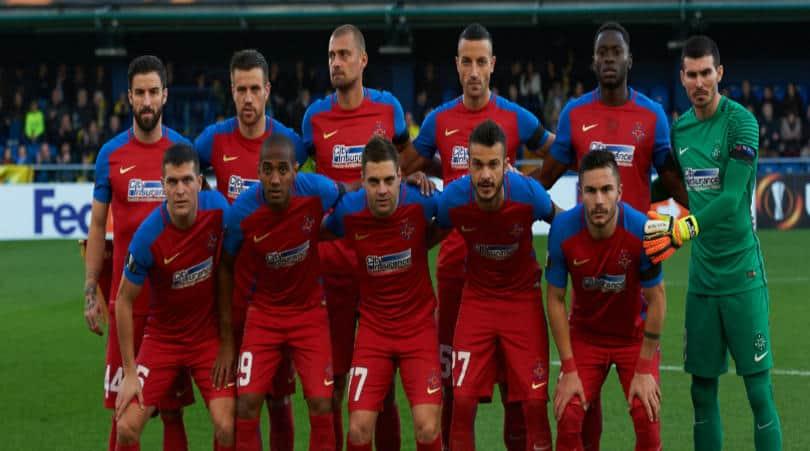 Steaua Bucharest fc team