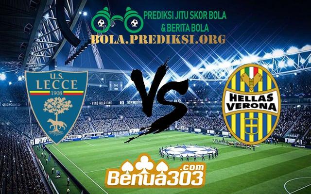 Prediksi Skor Lecce Vs Hellas Verona 2 September 2019