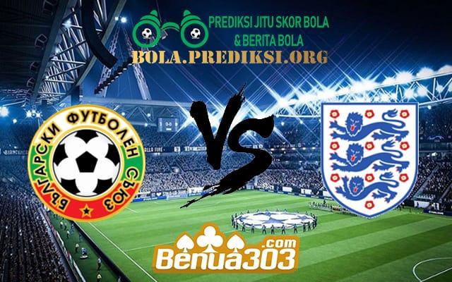 Prediksi Skor Bulgaria Vs England 15 October 2019