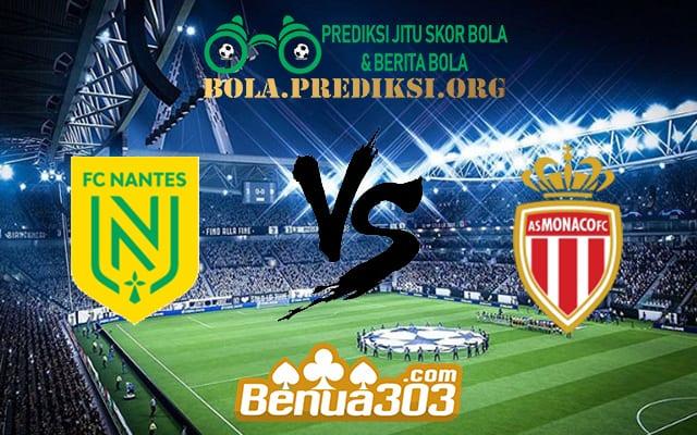 Prediksi Skor FC Nantes Vs AS Monaco FC 26 Oktober 2019