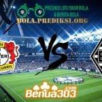 Prediksi Skor Bayer Leverkusen Vs Borussia M'gladbach 2 November 2019